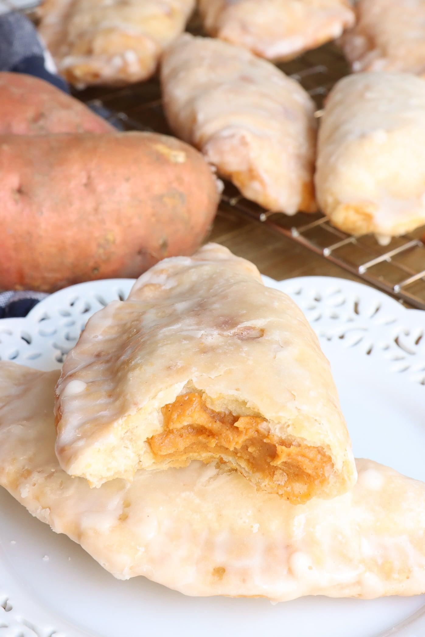 fried sweet potato hand pie