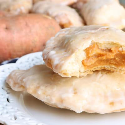 fried sweet potato hand pie
