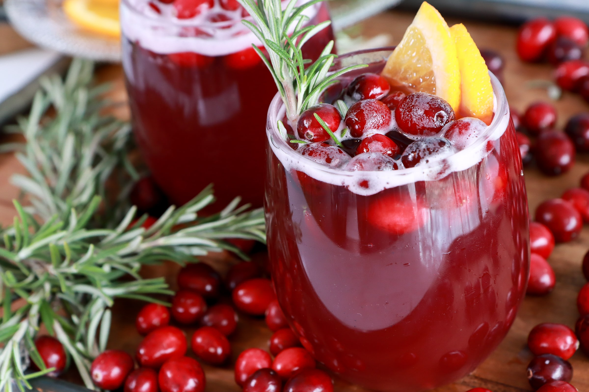Red Holiday Punch Recipe