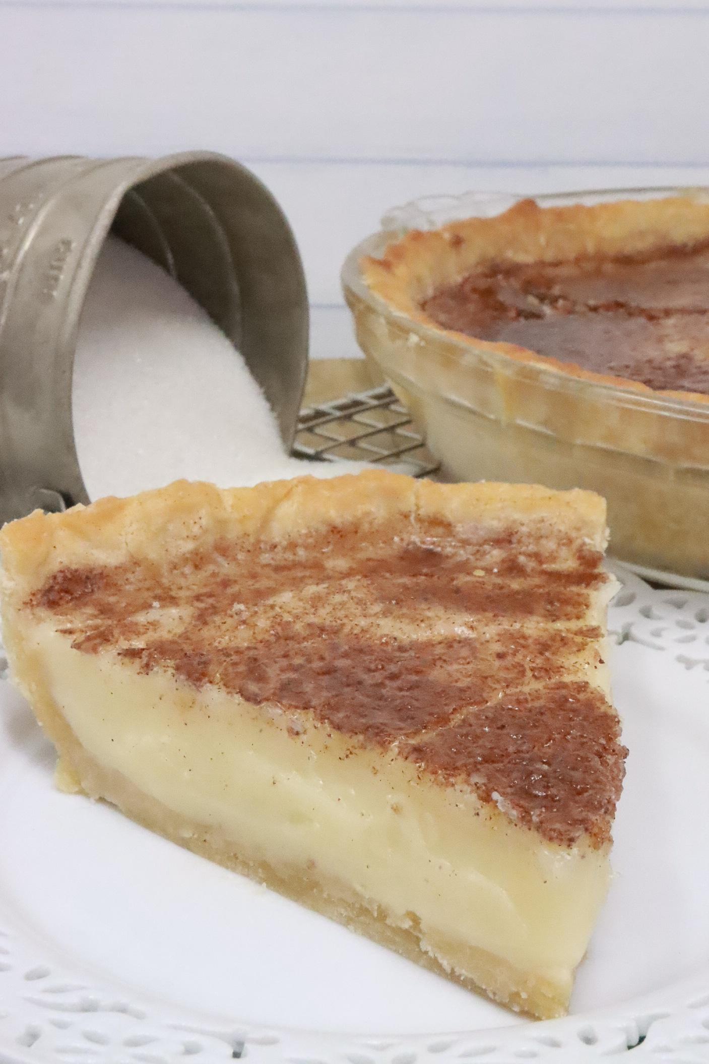 hoosier sugar pie recipe