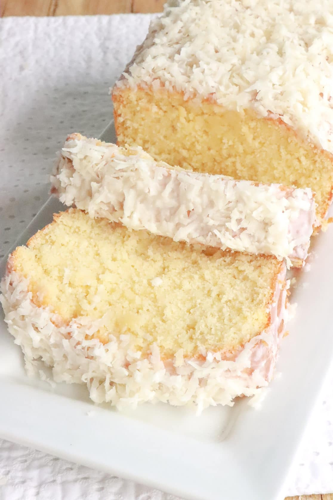 Coconut Pound Cake
