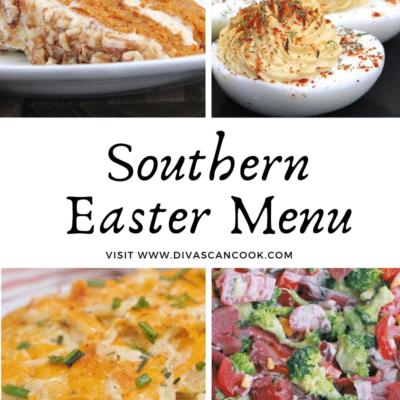 Southern Easter Menu