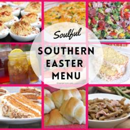 Southern Easter Dinner Menu