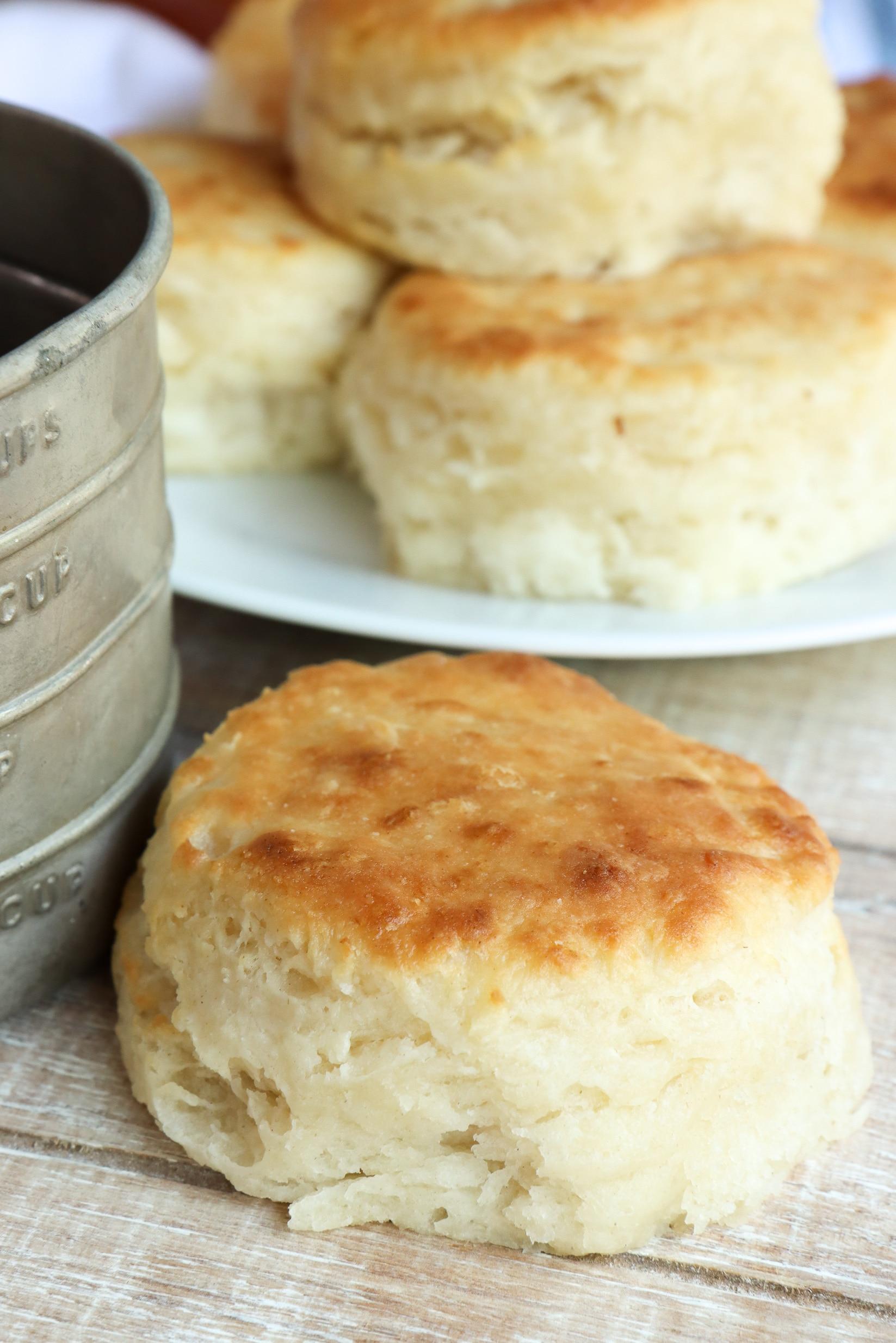3 ingredient buttermilk biscuits