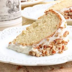 banana sour cream cake recipe