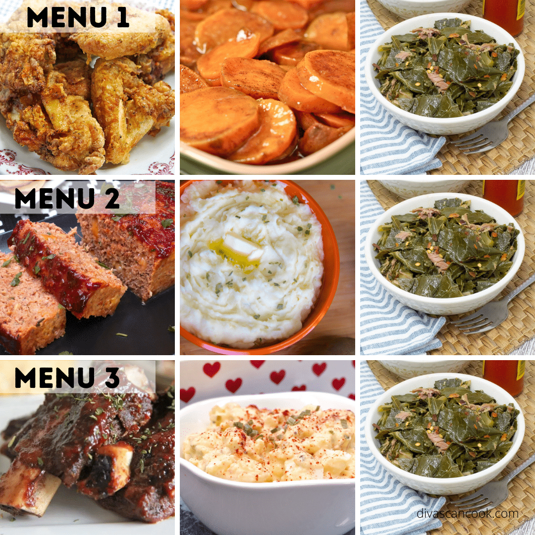 what to serve with collard greens