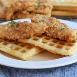 southern chicken and waffles